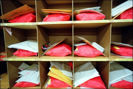 stuffed mailboxes