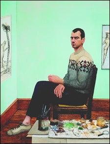Gillespie self-portrait