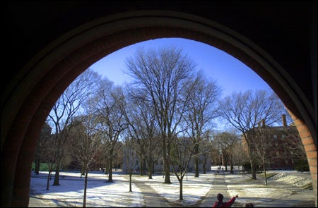 Sever Hall archway