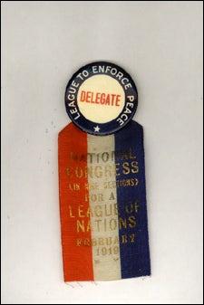 'Delegate' ribbon