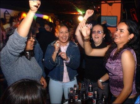 Women's Night Out celebrants