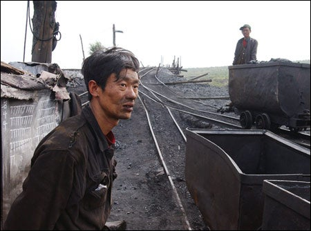 Chinese coal miner