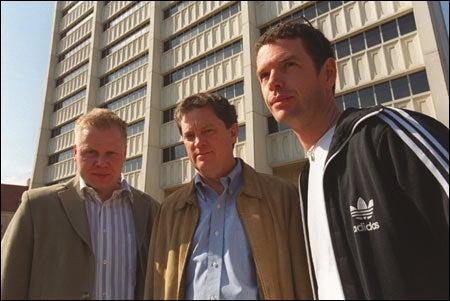 Pekka Mykkanen, Erik Eckholm, Dermot Tatlow