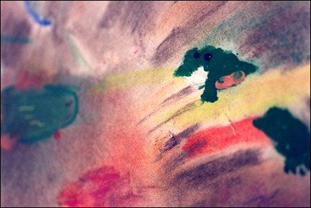 Charlene Swain's version of Winslow Homer's 'Mink Pond'