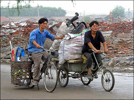 Beijing scrap dealers