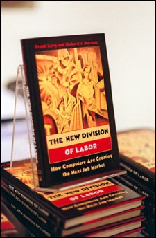 Murnane's book on display
