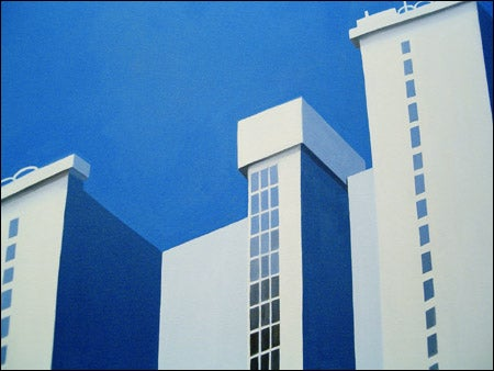 Thenji Nkosi's 'Apartments on Klein Street' (detail)