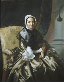 Copley portrait of Mrs Thomas Boylston