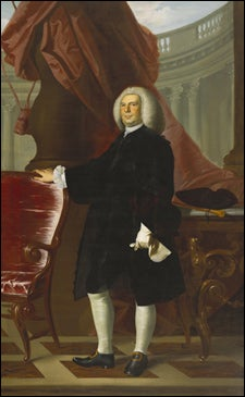 Portrait of Thomas Hancock