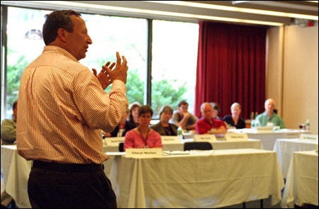 President Summers addresses new college presidents