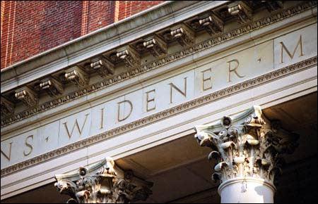 Widener facade