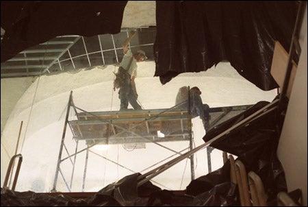 MAC mezzanine under construction