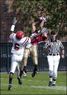 Brian Edwards '05, referee, Cornell opponent
