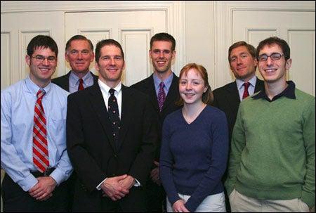 Ashford family and fellowship recipients