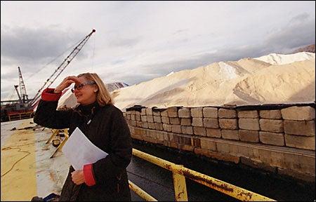 Crawford surveys the landscape