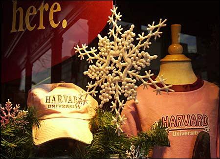 holiday t-shirt display