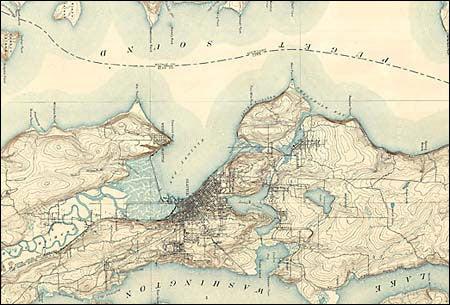 U.S. Geological Survey, Seattle, Wash., Quadrangle, 1893