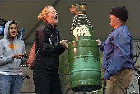 Springfest Green Cup presentation