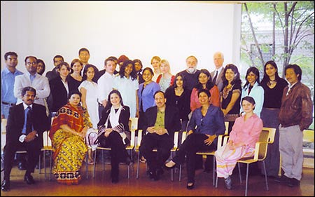 South Asia Initiative faculty and student grantees, staff, and donors