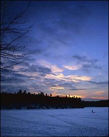 ice-fishing at Walden