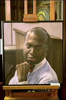 Evans portrait