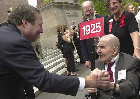 President Summers, Philip Keene '25