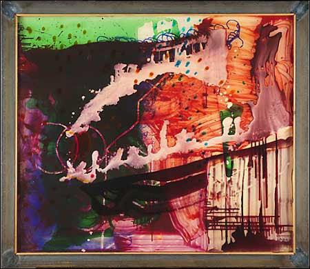 Sigmar Polke painting