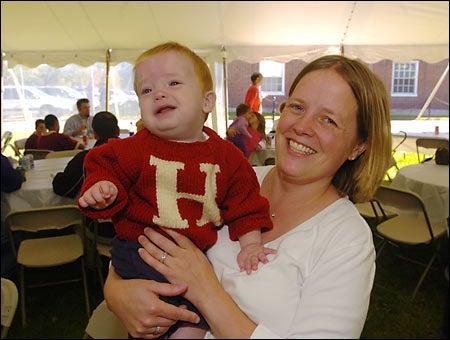 Declan Hocker and Karen Hocker