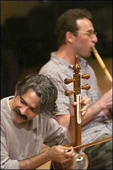 Silk Road musicians Kalhor and Jahangiri