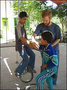 unicycle training