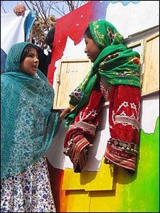 Afghan comediennes