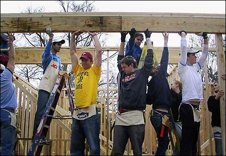 Harvard Habitat crew
