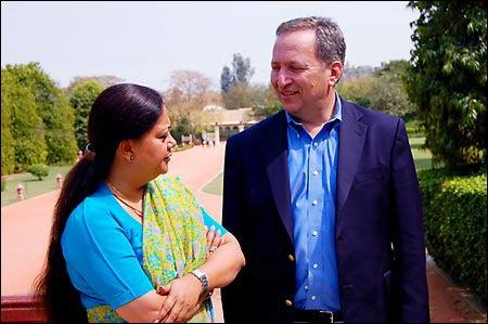 Summers and Vasundhara Raje