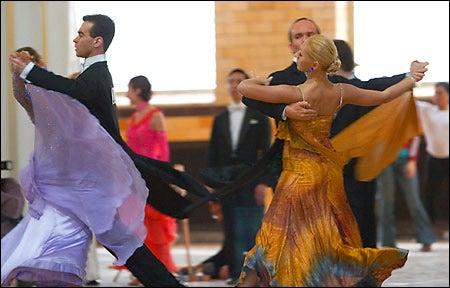 Dancers Huot, Bednikov, Bets, and Allen