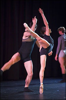 Boston Ballet dancers