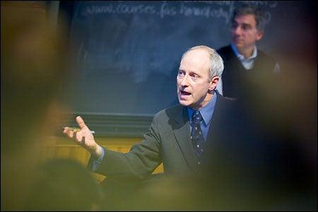 Michael Sandel and Douglas Melton