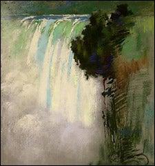 Sarah Wyman Whitman, 'Niagara Falls,' 1898