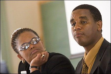 Beatrice Mtetwa and Noel Twagiramungu