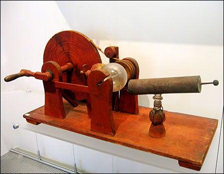 18th century 'electrical machine'