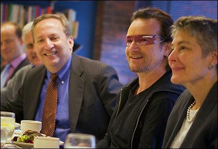 Summers, Bono, Jennifer Leaning