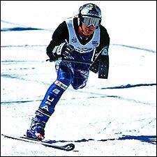 Billmeier skiing