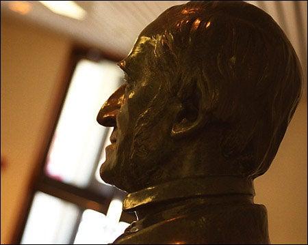Emerson statue