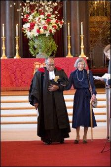 Mrs. Galbraith, Rev. Gomes