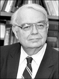 Frederick Mosteller in 1992