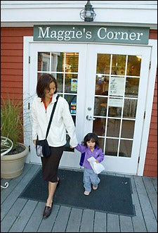 Sonya Shin and daughter