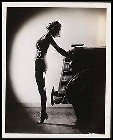 girl with Pontiac