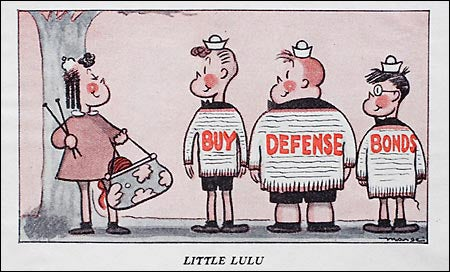 Defense Bonds cartoon