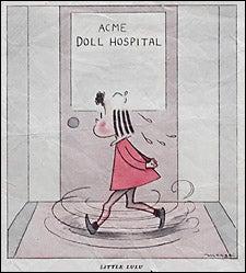 Lulu cartoon