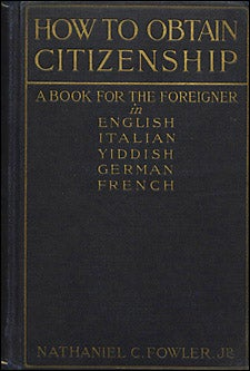 'How to Obtain Citizenship' book