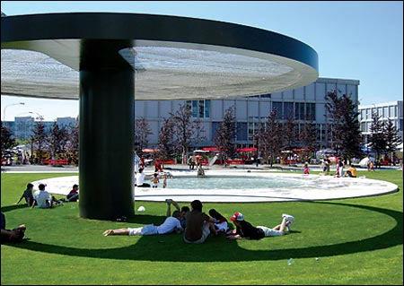 public housing gardens